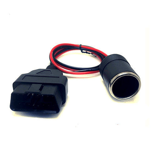 OBD2 to Cigarette Lighter Female Connector Car Power Cable