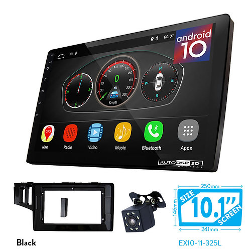 "10"" DSP Car Radio+Fascia Kit Compatible with HONDA Fit, Jazz 2013+"