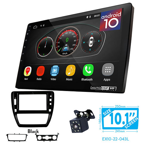 "10"" Android 10 Car Stereo + Fascia Kit for VOLKSWAGEN Sagitar 2012+"