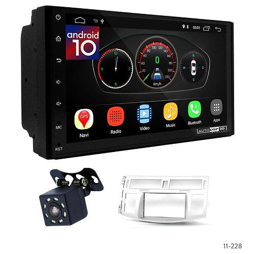 "7"" DSP Car Radio+Fascia Kit Compatible with Toyota Avalon 05-09"