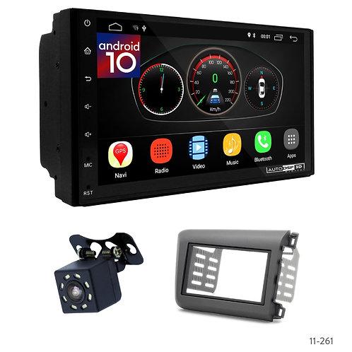 "7"" DSP Car Radio+Fascia Kit Compatible with Honda Civic 11-13"