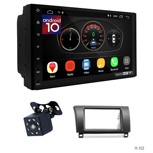 "7"" DSP Car Radio+Fascia Kit Compatible with Toyota Tundra 07-13, Sequoia 07+"