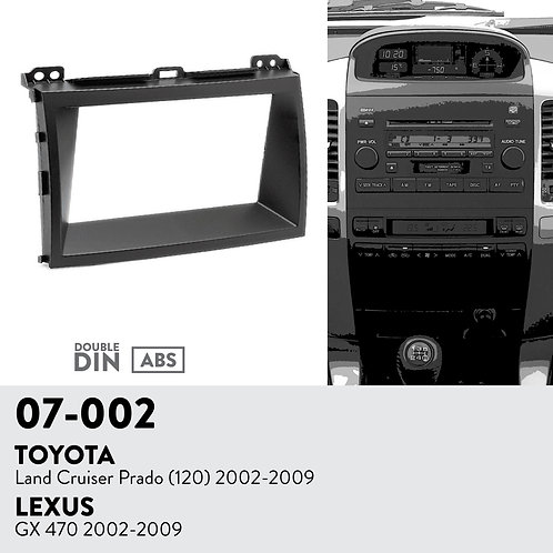 07-002 Compatible with TOYOTA Land Cruiser Prado (120) 2002-2009 / LEXUS