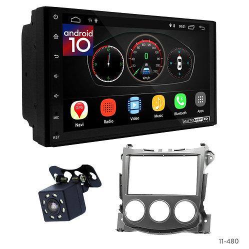 """7"""" DSP Car Radio + Fascia Kit for Nissan 370Z 09-12"""