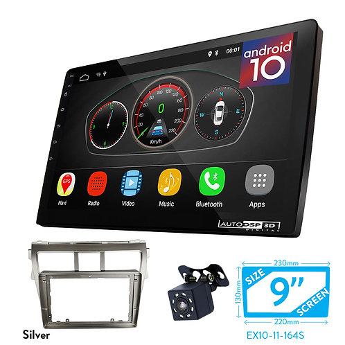 "9"" DSP Car Radio+Fascia Kit Compatible with TOYOTA Vios 20Belta, Yaris Sedan"
