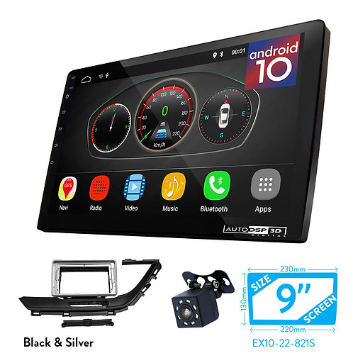 """9"""" DSP Car Radio+Fascia Kit Compatible with BUICK GL6 2016+"""