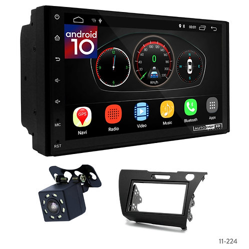 "7"" DSP Car Radio+Fascia Kit Compatible with Honda CR-Z 10+"