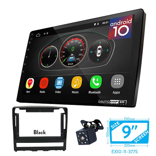 "9"" Android 10 Car Stereo + Fascia Kit for FIAT Albea, Siena, Palio; Perla; Idea"