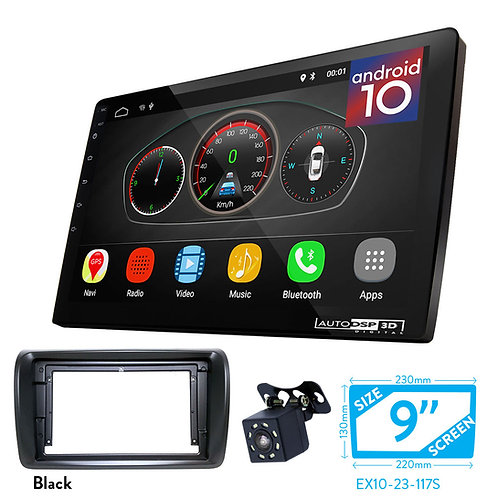 "9"" Android 10 Car Stereo + Fascia Kit for NISSAN NV350"