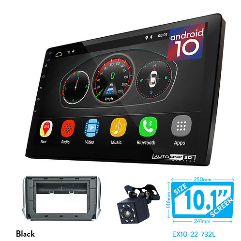 """10"""" Android 10 Car Stereo + Fascia Kit for PEUGEOT (2008) 2013+"""