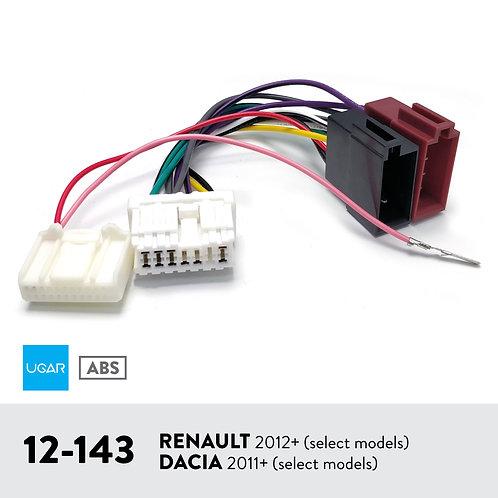 UGAR 12-143 Harness for RENAULT 2012+ (select models) / DACIA 2011+ (select mode