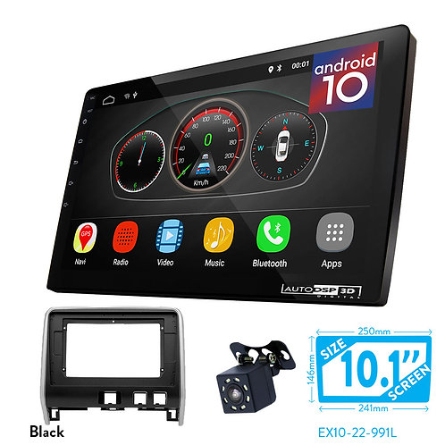"10"" DSP Car Radio+Fascia Kit Compatible with NISSAN Serena (C27) 2016+"