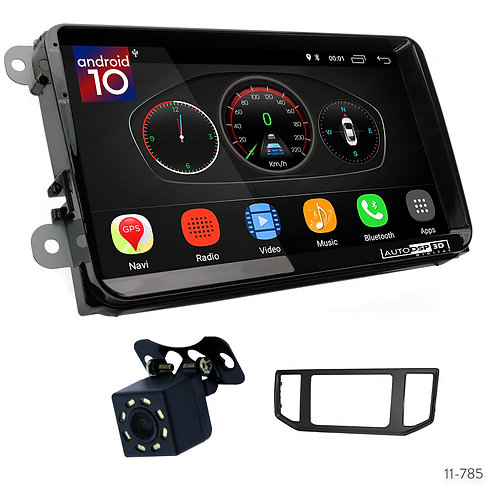 """VW 9"""" Car Stereo Radio Plus 11-785 Fascia Kit for Volkswagen Crafter 2016+"""