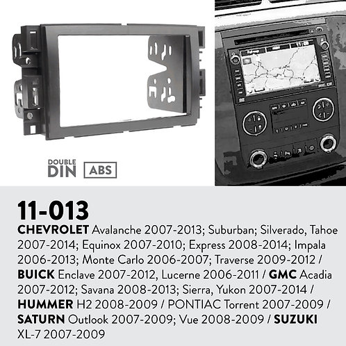 11-013 Compatible with CHEVROLET Avalanche 2007-2013; Suburban; Silverad