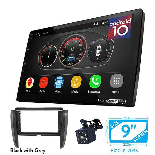 "9"" DSP Car Radio+Fascia Kit Compatible with TOYOTA Allion (T260/265), Premio"