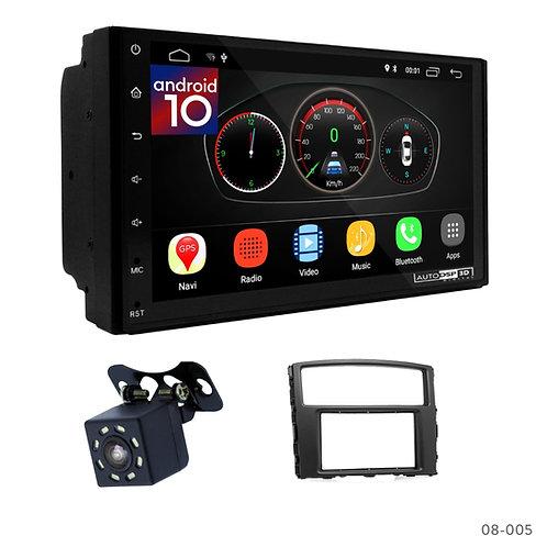 "7"" DSP Car Radio+Fascia Kit Compatible with Mitsubishi Pajero, Shogun, Montero 0"
