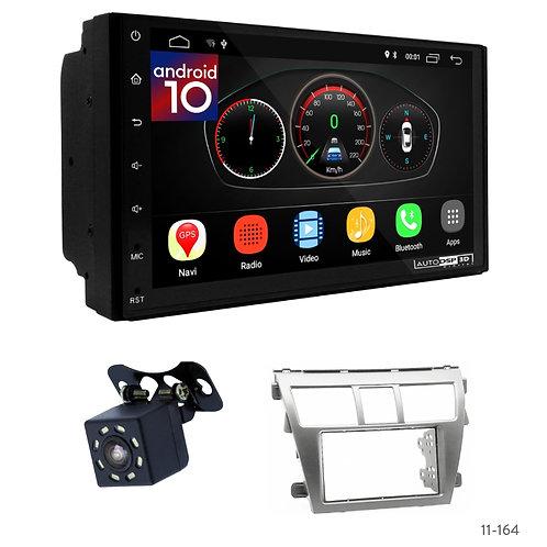 "7"" DSP Car Radio + Fascia Kit for Toyota Vios, Belta, Yaris Sedan"