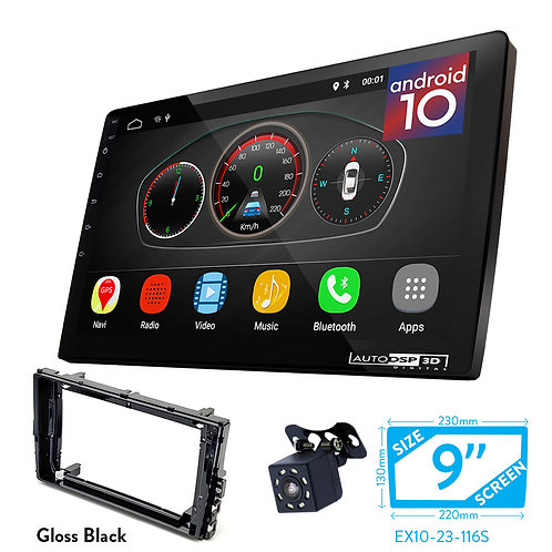 "9"" Android 10 Car Stereo + Fascia Kit for Volkswagen Lavida, T-ROC 2018+,"
