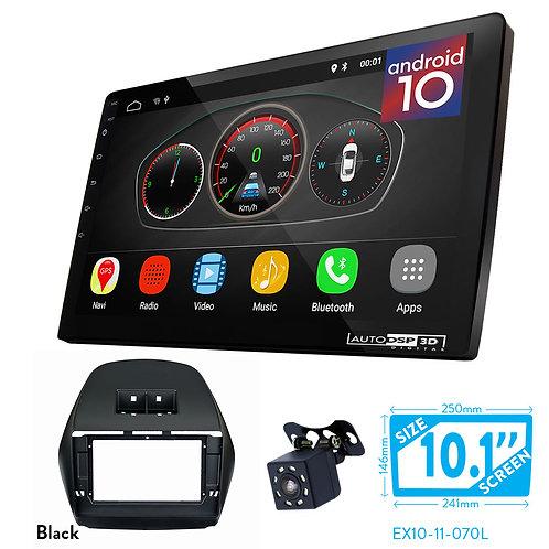 "10"" DSP Car Radio+Fascia Kit Compatible with HYUNDAI iX-35, Tucson (LM) 2010-18"