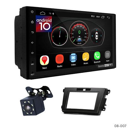 """7"""" DSP Car Radio+Fascia Kit Compatible with Mazda CX-7 06-12"""