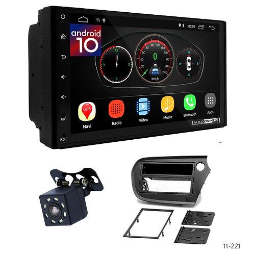 "7"" DSP Car Radio+Fascia Kit Compatible with Honda Insight 2009-2014"