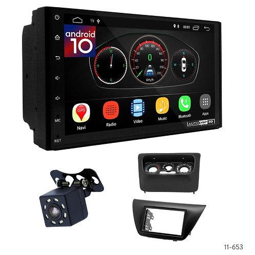 """7"""" DSP Car Radio+Fascia Kit Compatible with Mitsubishi Lancer IX 00-10"""