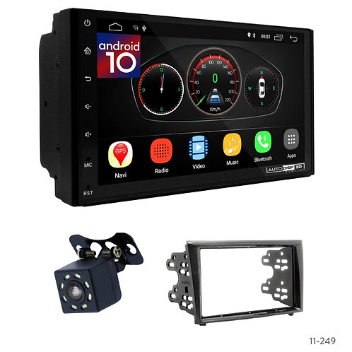 "7"" DSP Car Radio+Fascia Kit Compatible with Mitsubishi Colt 02-12; Colt + 04-12"