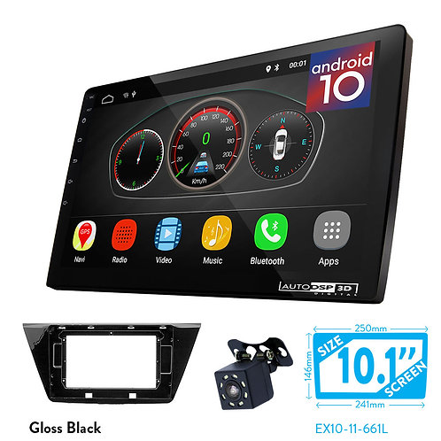 """10"""" Android 10 Car Stereo + Fascia Kit for VOLKSWAGEN Touran 2015+"""