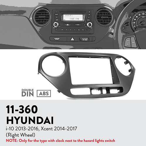 11-360 Compatible with HYUNDAI i-10 2013-2016, Xcent 2014-2017