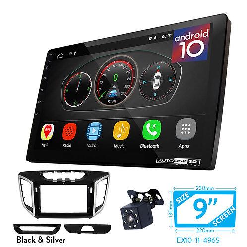 "9"" DSP Car Radio+Fascia Kit Compatible with HYUNDAI iX-25 2014+; Creta 2015+"