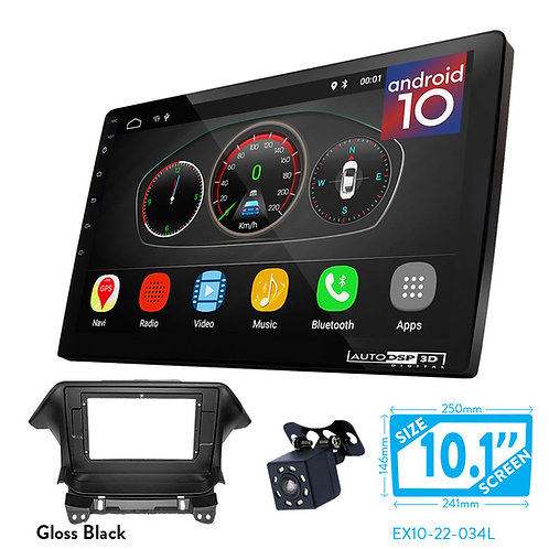 """10"""" DSP Car Radio+Fascia Kit Compatible with HONDA Odyssey (RB3/RB4) 2008-2013"""