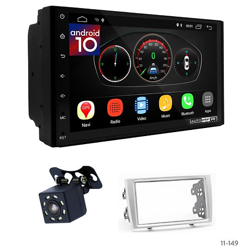 """7"""" DSP Car Radio+Fascia Kit Compatible with Peugeot (308) 07-13, (408) 11+"""