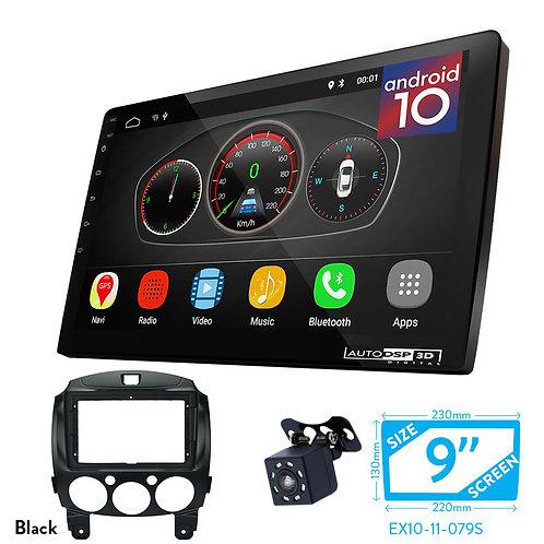 "9"" DSP Car Radio+Fascia Kit Compatible with TOYOTA Vios / MAZDA (2), Demio"
