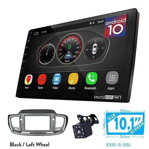 """10"""" DSP Car Radio+Fascia Kit Compatible with KIA Sorento (UM) 2014+"""