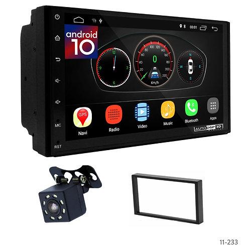 """7"""" DSP Car Radio+Fascia Kit Compatible with CHEVROLET Lacetti, Optra; Aveo/SUZUK"""