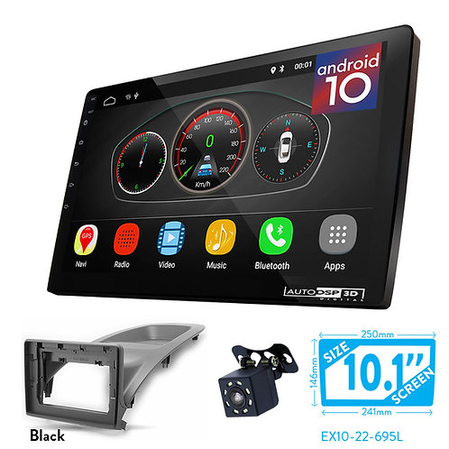 """10"""" Android 10 Car Stereo + Fascia Kit for FORD Ecosport 2017+"""