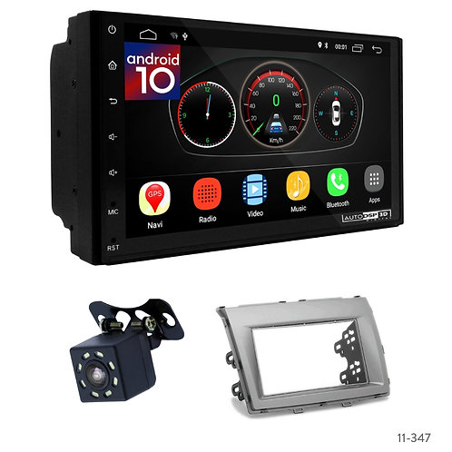 """7"""" DSP Car Radio+Fascia Kit Compatible with Mazda (8), MPV 06+"""