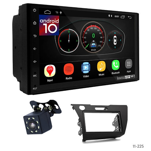 "7"" DSP Car Radio+Fascia Kit Compatible with Honda CR-Z 10"