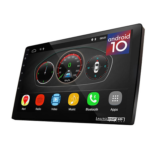"UGAR 9"" EX10-S-DSP Universal 2GB 16GB Android 10 Head Unit"