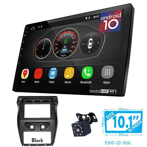 """10"""" DSP Car Radio+Fascia Kit Compatible with CITROEN C-Quatre 2012-2016"""