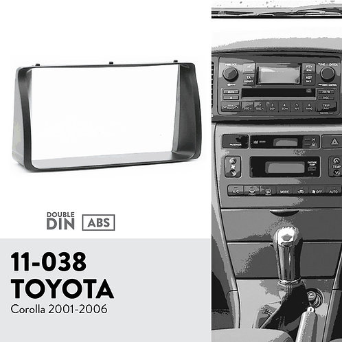 11-038 for TOYOTA Corolla 2001-2006