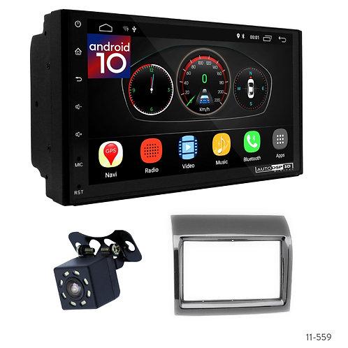 "7"" DSP Car Radio+Fascia Kit Compatible with Citroen Jumper/Peugeot Boxer/Fiat Du"