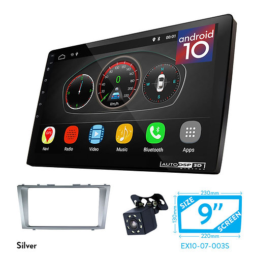 "9"" Android 10 Car Stereo + Fascia Kit for TOYOTA Camry, Aurion / DAIHATSU Altis"