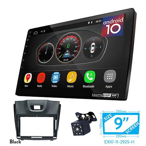 """9"""" DSP Car Radio+Fascia Kit Compatible with ISUZU D-Max 2012+; MU-X 2013+"""