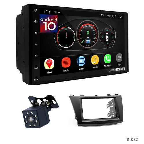 "7"" DSP Car Radio+Fascia Kit Compatible with Mazda (3), Axela 2009-2013"