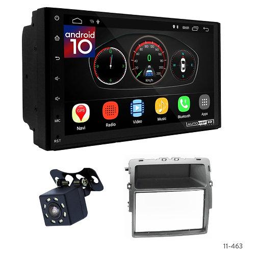 "7"" DSP Car Radio+Fascia Kit Compatible with Nissan Primastar/OPEL Vivaro/Renault"