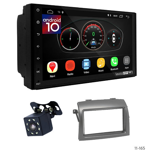 """7"""" DSP Car Radio+Fascia Kit Compatible with Toyota Sienna 04-10"""