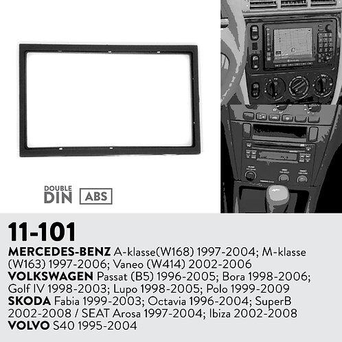11-101 Compatible with MERCEDES-BENZ A-klasse(W168) 1997-2004; M-klasse