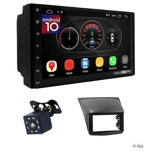"7"" DSP Car Radio+Fascia Kit Compatible with Mitsubishi, Triton; Pajero Sport"