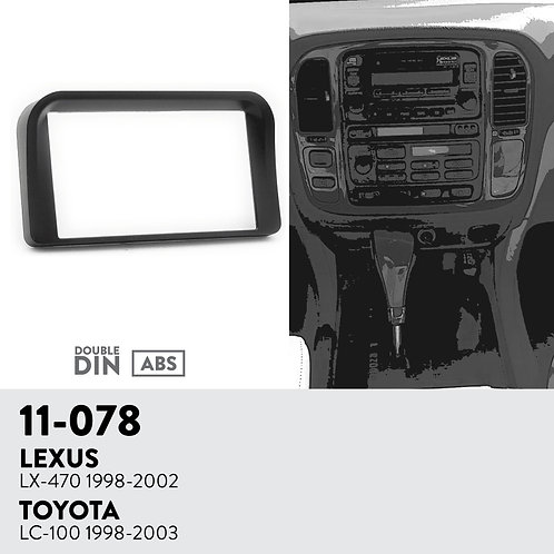 11-078 Compatible with LEXUS LX-470 1998-2002 / TOYOTA LC-100 1998-2003